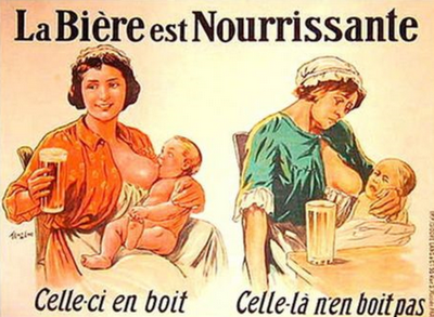 beer is nourishing