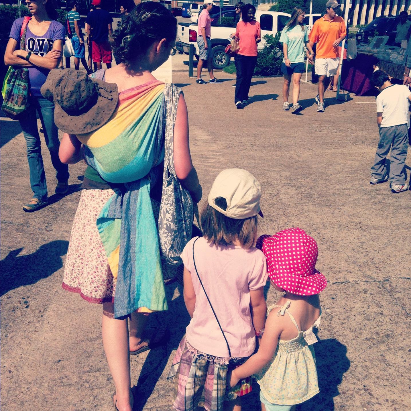 babywearing, baby carrier, woven wrap, girasol