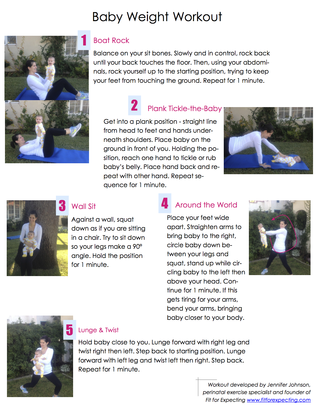 TLB Workout - Exercising with Baby