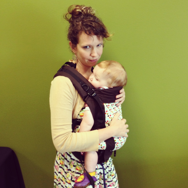 Beco Soliel baby carrier