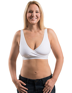 Hands-Free Pump&Nurse Relaxed Crossover Bra