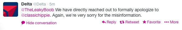 Don't worry, they apologized.