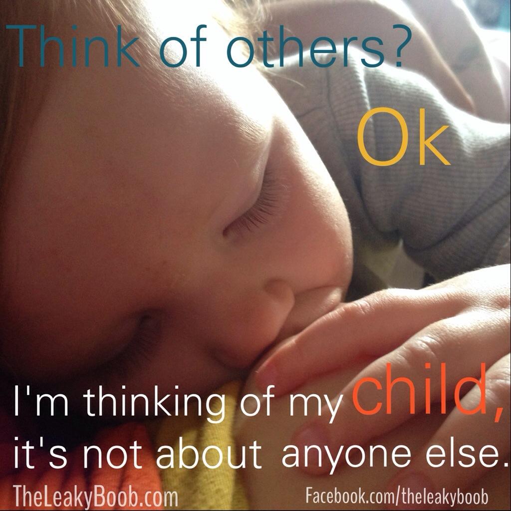 human decency and breastfeeding