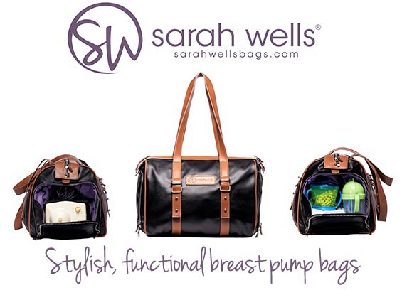 Sarah Wells Maddy Breast Pump Bag