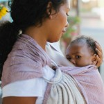 babywearing and breastfeeding