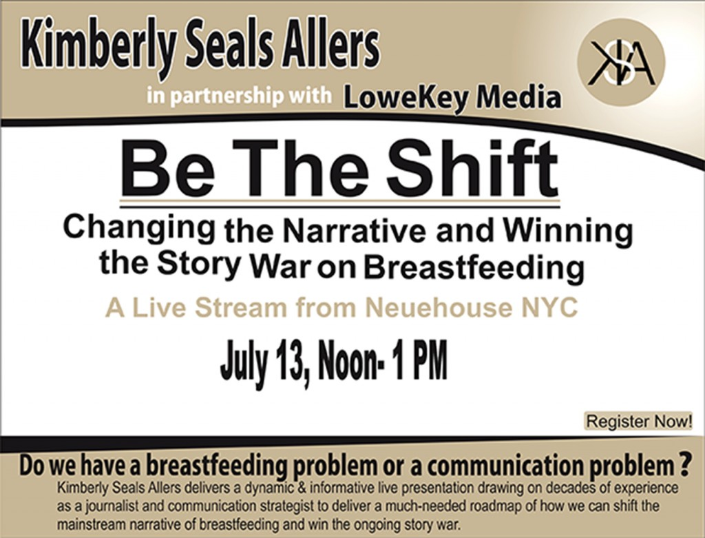Changing the narrative and winning the story war on breastfeeding