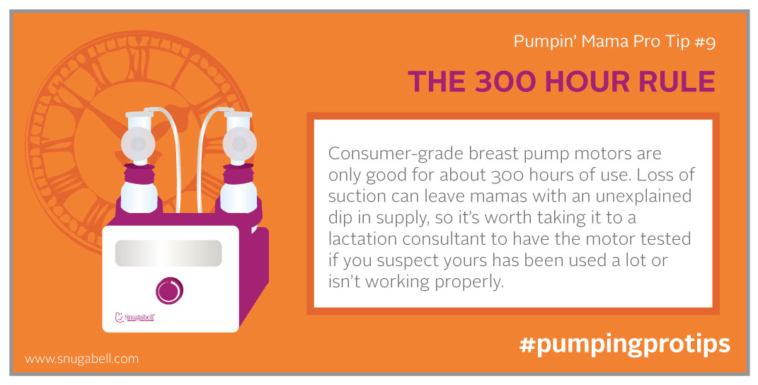 300 hour breastpump rule