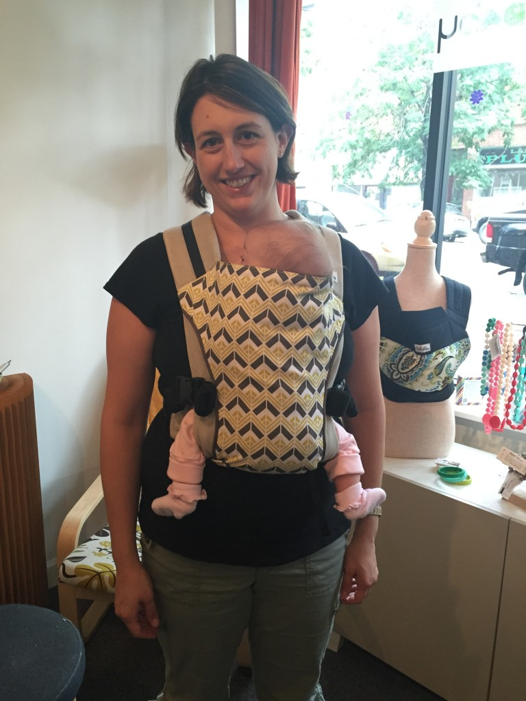 Safe babywearing with Catbird and TLBsafeKids